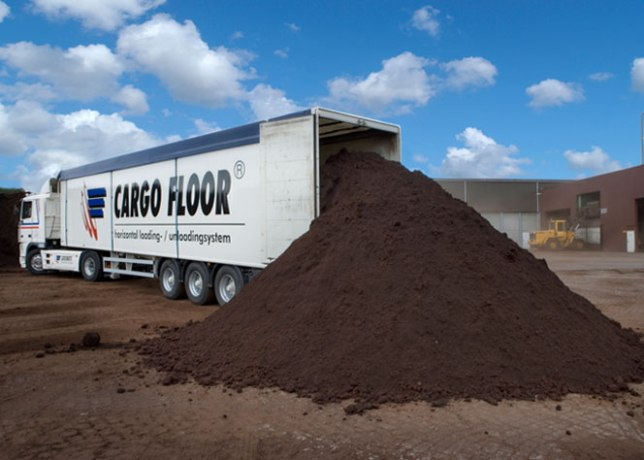 truckload of soil
