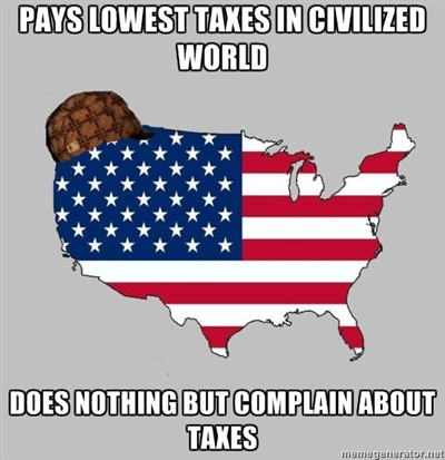 pays lowest taxes