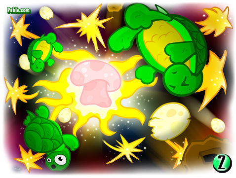 big bang turtle