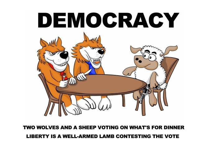 Democracy-Two-wolves-and-a-sheep