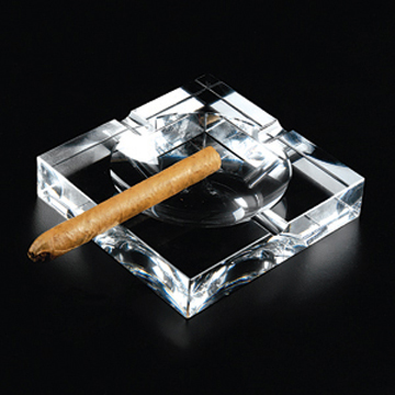 ashtray glass square