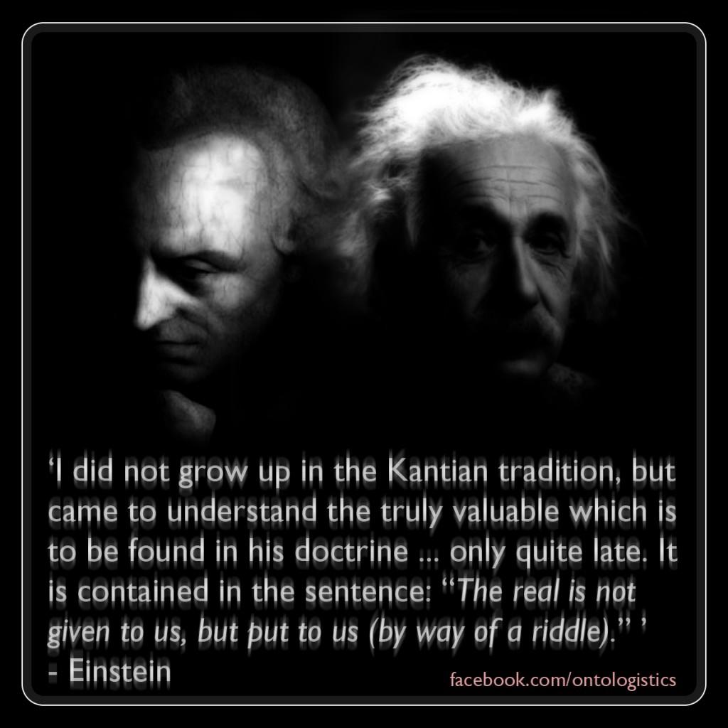 Resultado de imagen de kant relativity einstein