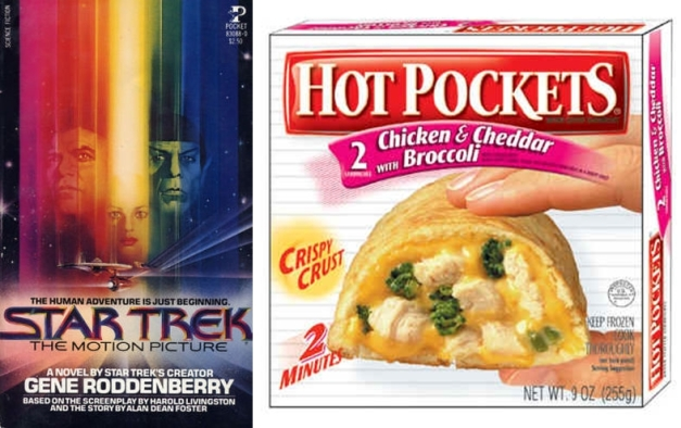 star trek hot pockets