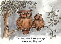 teenage owl