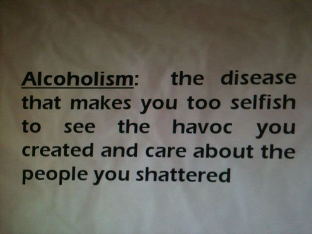 alcoholism the diseaese