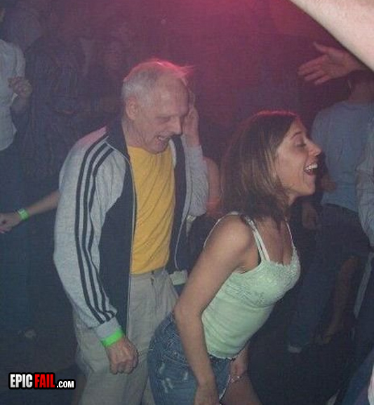 drunk-girl old-man