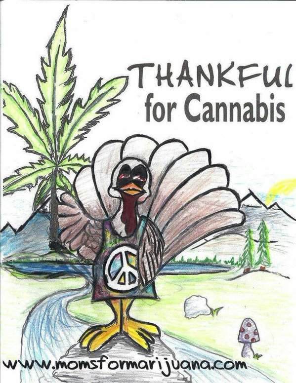 thankful for cannabis