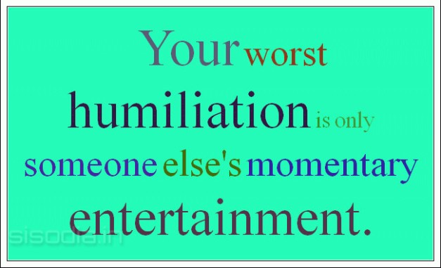humiliation-entertaining